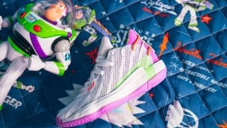 Adidas Will Release A Kids-Only 'Toy Story' Colorway Of Damian Lillard's Dame 7 Shoe