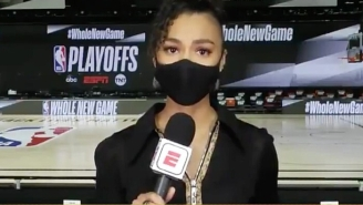 ESPN's Malika Andrews Fought Back Tears Discussing Breonna Taylor: 'That Could've Been Me'