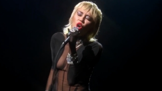 Miley Cyrus Delivered A Passionate Cover Of Blondie's 'Heart Of Glass' At The iHeart Radio Music Festival