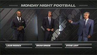 ESPN Has Found A Good 'Monday Night Football' Booth With Riddick, Griese, And Levy