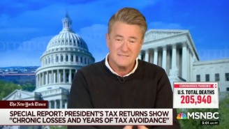 Joe Scarborough Trashed Trump As 'The Least Successful Business Person Of All Time' Over His Taxes
