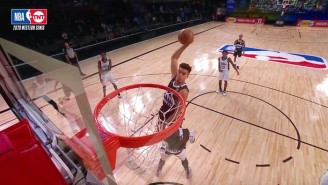 Michael Porter Jr. Finished A Thunderous Dunk Over Montrezl Harrell In Game 3