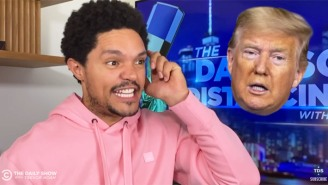 Trevor Noah And James Corden Couldn't Get Enough Of Trump Being 'Fox-And-Friend-Zoned' By Steve Doocy