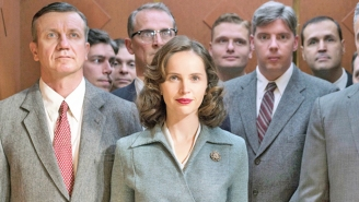 Felicity Jones, Star Of 'On The Basis Of Sex,' Paid Tribute To The Late Ruth Bader Ginsburg