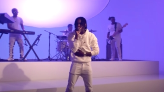 Polo G Gives A VIbrant 'Tonight Show' Performance Of 'Martin & Gina'