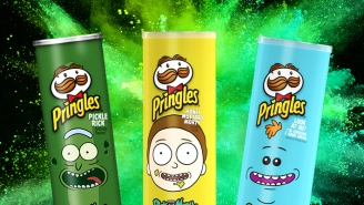 We Tasted The 'Rick and Morty' Pringles And… You Can Probably Skip Them