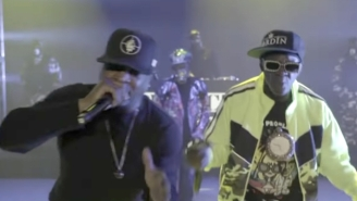 Public Enemy Brings The Noise To 'The Late Show' With 'Grid' Featuring B Real And George Clinton
