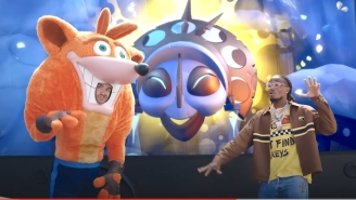 Quavo Trades Rhymes With A Beloved Video Game Mascot In The 'Crash Bandicoot 4' Trailer