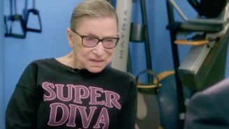 Ruth Bader Ginsburg's Trainer Did Push-Ups Next To Her Casket In Honor Of Her Intense Workouts