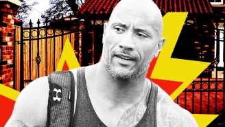 Did The Rock Really Rip The Gate Off Of His Mansion With His Bare Hands In A Fit Of Rage?