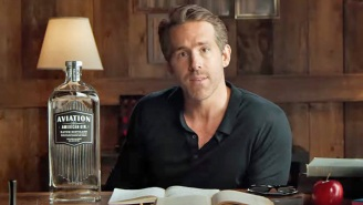 Ryan Reynolds Announces An Aviation Gin Edition That's Perfect For Your Homeschooling Needs