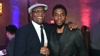 Samuel L. Jackson Revealed He And Chadwick Boseman Had Been Working On A Non-Marvel Project Together