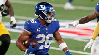 Saquon Barkley Reportedly Suffered A Torn ACL Against The Bears (UPDATE)