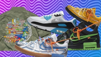 SNX DLX: Featuring Virgil's Latest Off-White Nike Dunks And The Return Of The Air Max 90 Laser Blue