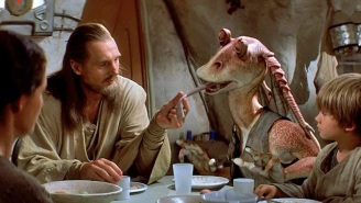 Liam Neeson Says The Backlash Against Jar Jar Binks Unfairly Hurt The Career Of The Actor Who Played Him