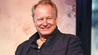 Stellan Skarsgård Spent A Ton Of Time In The 'Dune' Makeup Chair For His Big, Bad Transformation
