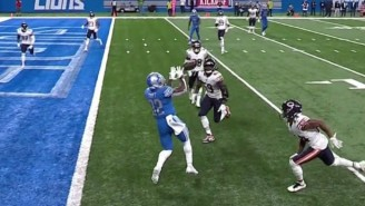 D'Andre Swift Dropped A Game-Winning Touchdown As The Lions Crumble Against The Bears