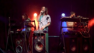 Tame Impala Turned 'Borderline' Into An Electronic Jam On 'The Tonight Show'