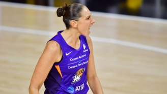 Diana Taurasi Hit A Dagger While The Clock Was Frozen To Beat Minnesota