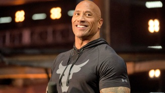 The Rock Got Mad During A Power Outage And (Maybe) Ripped His Gate Off Its Damn Hinges To Get To Work