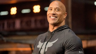 The Rock Gave A 'Black Adam' Update With A Different Kind Of Jacked Photo