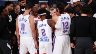 Channing Frye Had A Meltdown About The Thunder's Puzzling Final Play