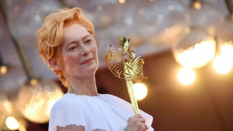 Tilda Swinton Ended Her Film Festival Acceptance Speech With A Chadwick Boseman Tribute