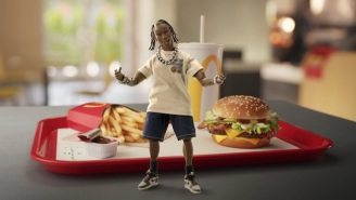 Travis Scott Stars (As An Action Figure) In A McDonald's Commercial For His New Meal