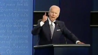 Trump Interrupted Biden As He Talked About His Late Son Beau, And People Were Horrified