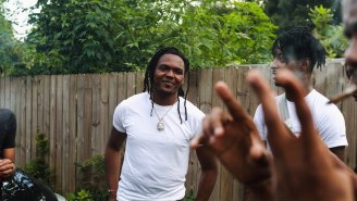 Young Nudy Enjoys A Kickback With The Homies In His New 'All White' Video