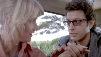 Jeff Goldblum Recreated A Classic 'Jurassic Park' Scene With Sam Neill And Laura Dern