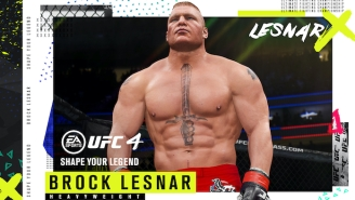 Brock Lesnar Is Returning To The Octagon In 'UFC 4'