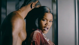 Teyana Taylor And Iman Shumpert Fight And Make Up In Her Steamy 'Concrete' Video