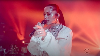 Ella Mai Gets In Her Feelings With The Vibrant 'Not Another Love Song' On 'Colbert'