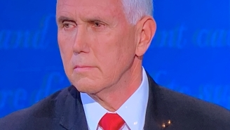 People Are Freaking Out Over Mike Pence's Grody 'Pink Eye' At The VP Debate
