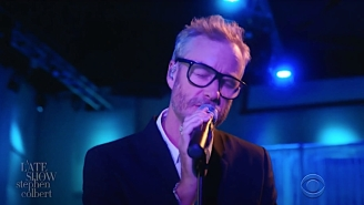 Matt Berninger Delivered A Cathartic Rendition Of 'One More Second' On 'Colbert'