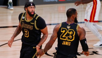 Report: LeBron James And Anthony Davis Could Both Return In The Next Three Weeks