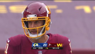 Alex Smith Made His Return To The Field Against The Rams Two Years After His Leg Injury