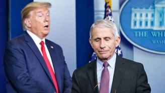 Trump Poured More Fuel On His Feud With Dr. Fauci While Making Unfounded Claims In A Campaign Call