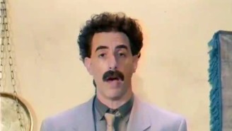 Borat Defended Rudy Giuliani's 'Innocent Sexytime' Caught On Film From 'Borat Subsequent Moviefilm'