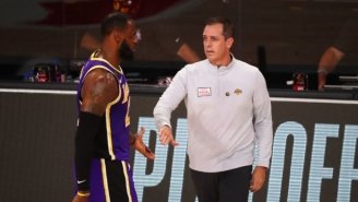 Frank Vogel Used An Iconic Scene From 'Old School' To Get The Lakers Bench To Calm Down In The Playoffs