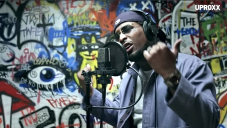 BRS Kash Performs His Campy Anti-Love Song 'Throat Baby' For 'UPROXX Sessions'