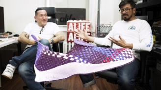 Alife's Rob Cristofaro Shares An Espo-Tag Easter Egg On The Nike Air Woven