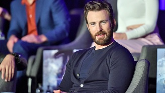 Chris Evans Playing Piano In A Big, Comfy Sweater Is Apparently What The World Needed Right Now