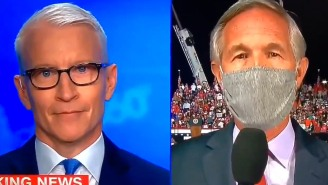 Between Anderson Cooper's Stunned Face And Trump's Butt-Shaking, Last Night Was A Big One For The Village People
