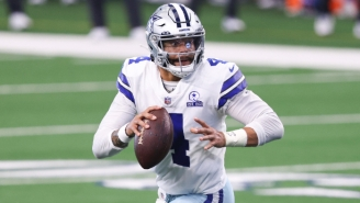 Dak Prescott Was Carted Off The Field With A Gruesome Ankle Injury Against The Giants