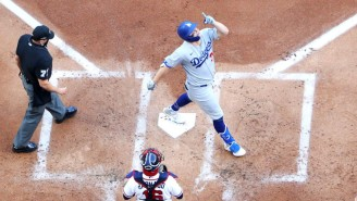 The Dodgers Scored A Record 11 Runs In The First Inning Against The Braves In Game 3 Of The NLCS