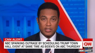 Don Lemon Is Big Mad At NBC For Giving Trump A Town Hall At The Same Time As Joe Biden's On Thursday