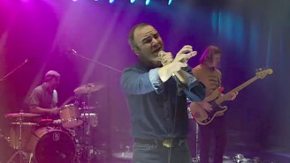 Future Islands Turn In An Evocative Performance Of 'For Sure' On 'The Late Show'