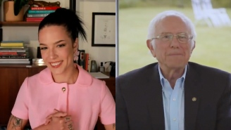 Halsey And Bernie Sanders Discuss A Wealth Tax And React To The First Presidential Debate
